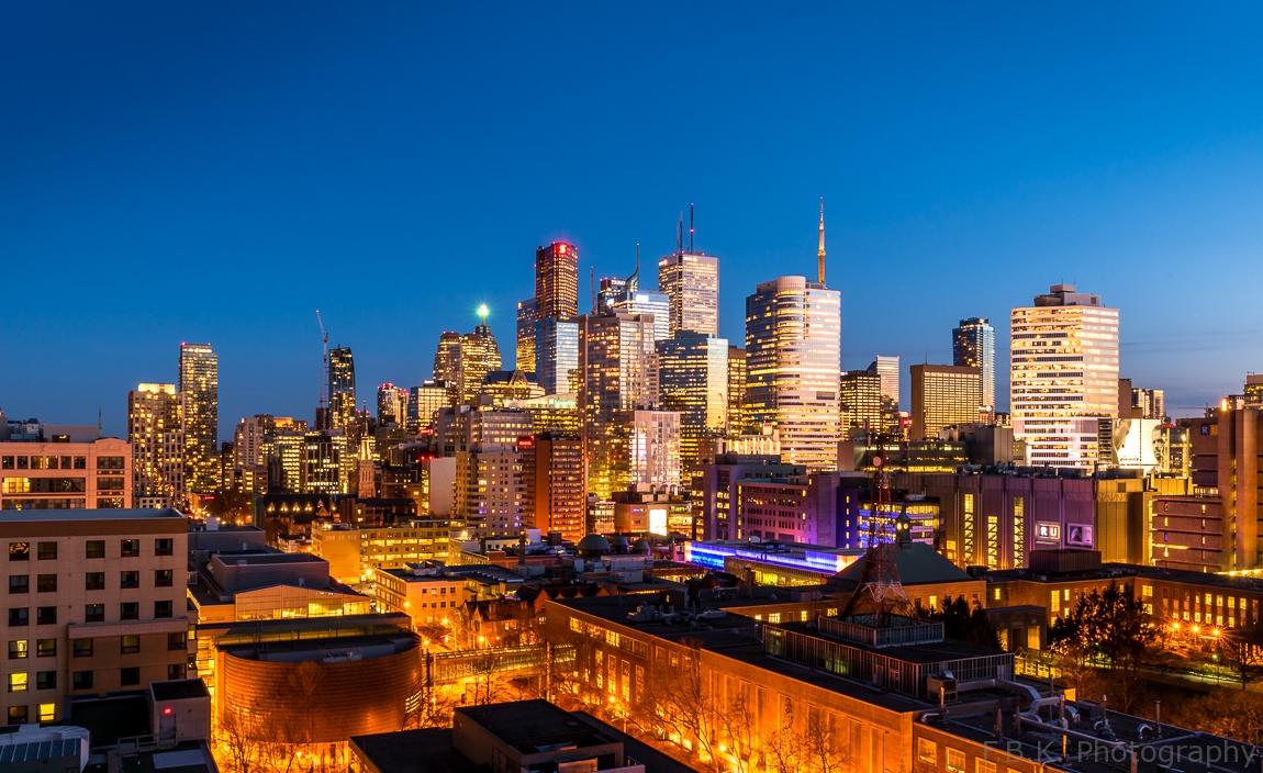 Toronto Time Lapse, Summer Sunset