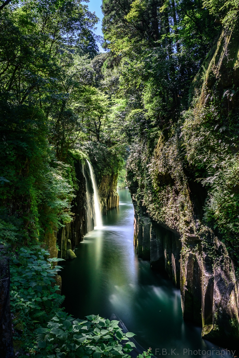 Waterfall in the Takachiho Gorge